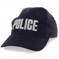 Бейсболка POLICE с заметными вышитыми буквами и флагом КНР на затылке. Размер регулируется ремешком на липучке. Дешевле некуда!
