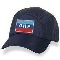 Кепка-пятипанелька с флагом ЛНР