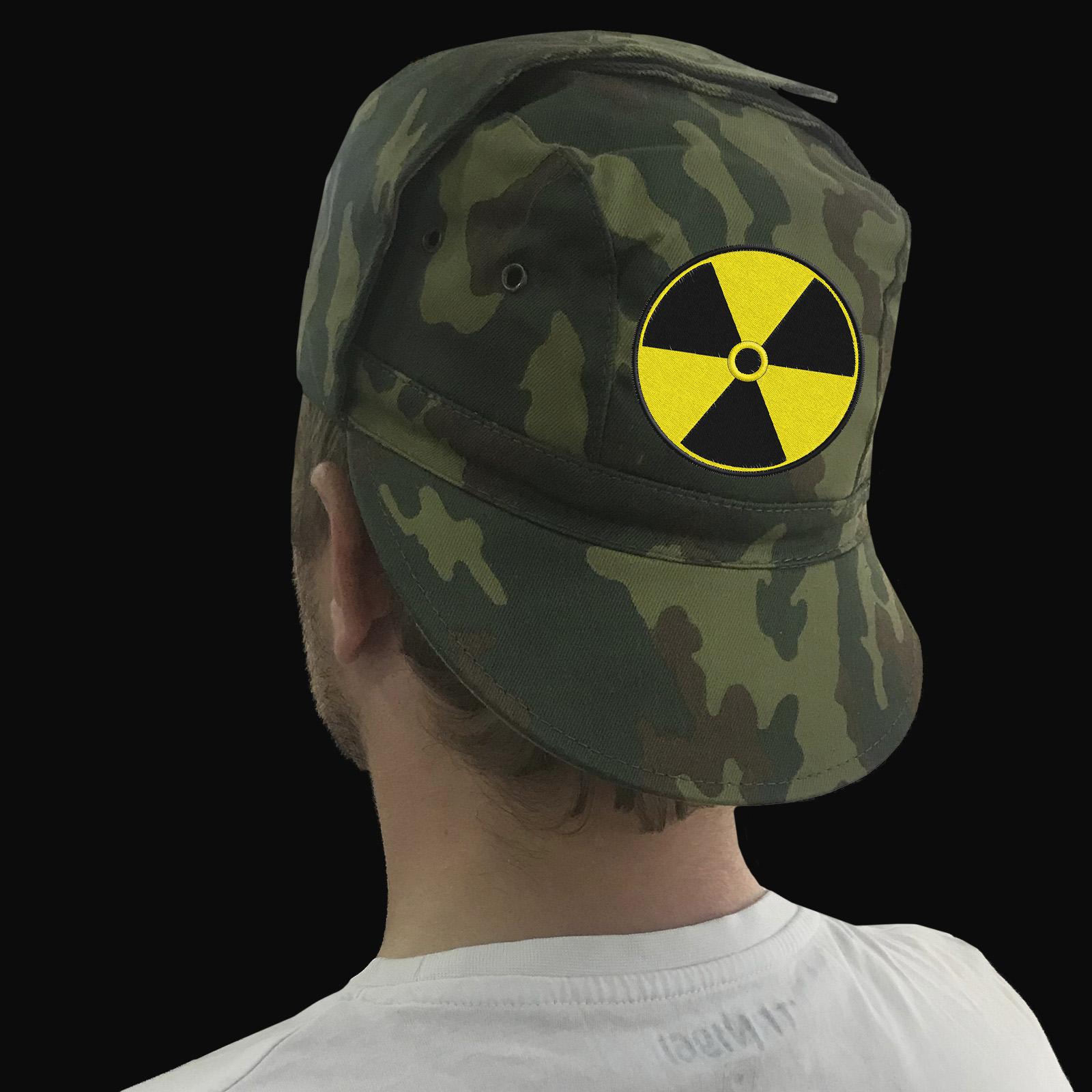 Мужские кепки и бейсболки с вышитой символикой Радиации