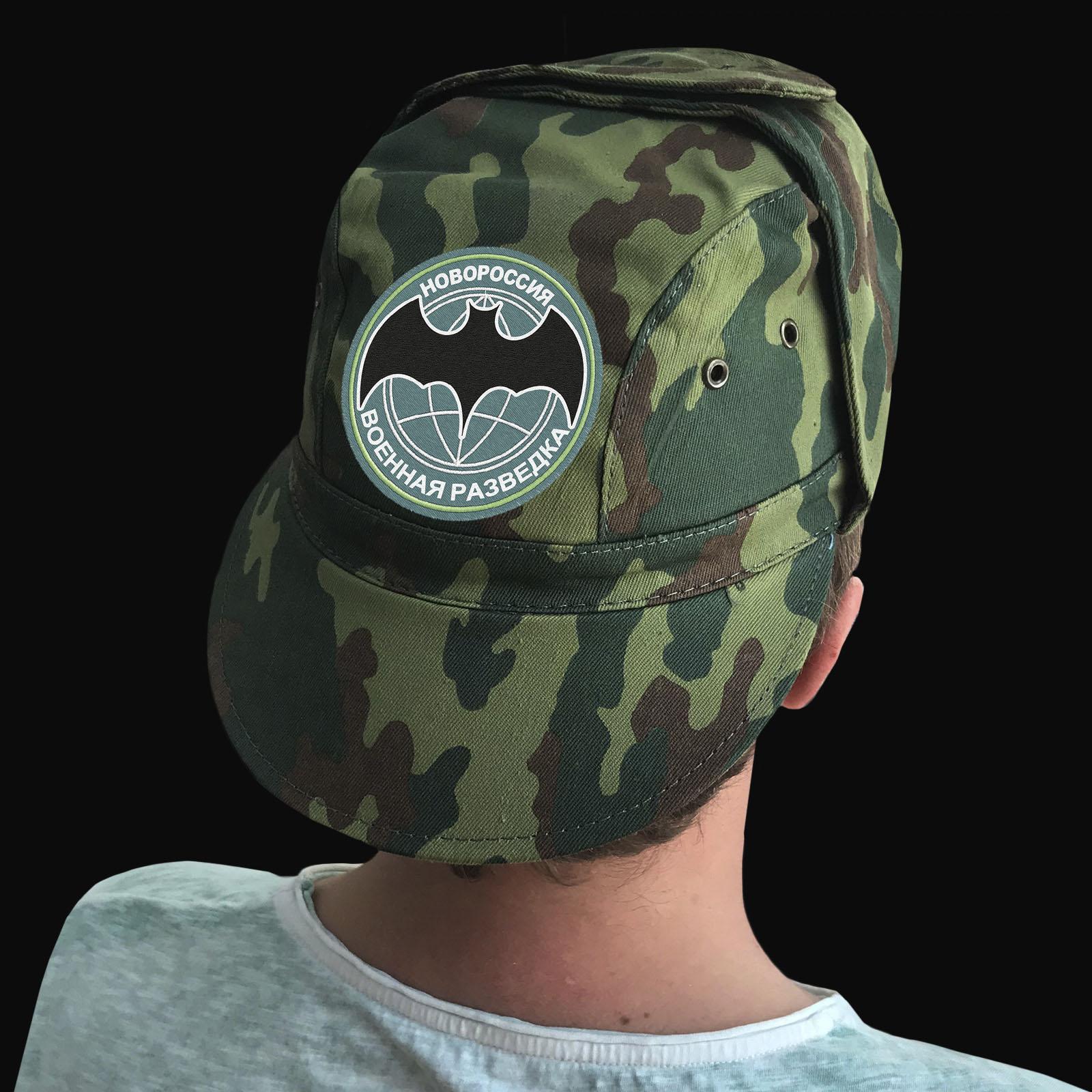 Купить недорогую милитари кепку с шевроном Военная разведка Новороссии
