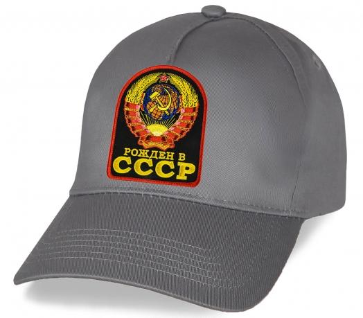 Кепка Рожден в СССР с вышивкой