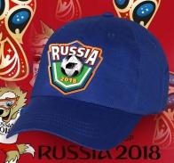 Кепка Russia 2018 - крутая фанатская атрибутика.