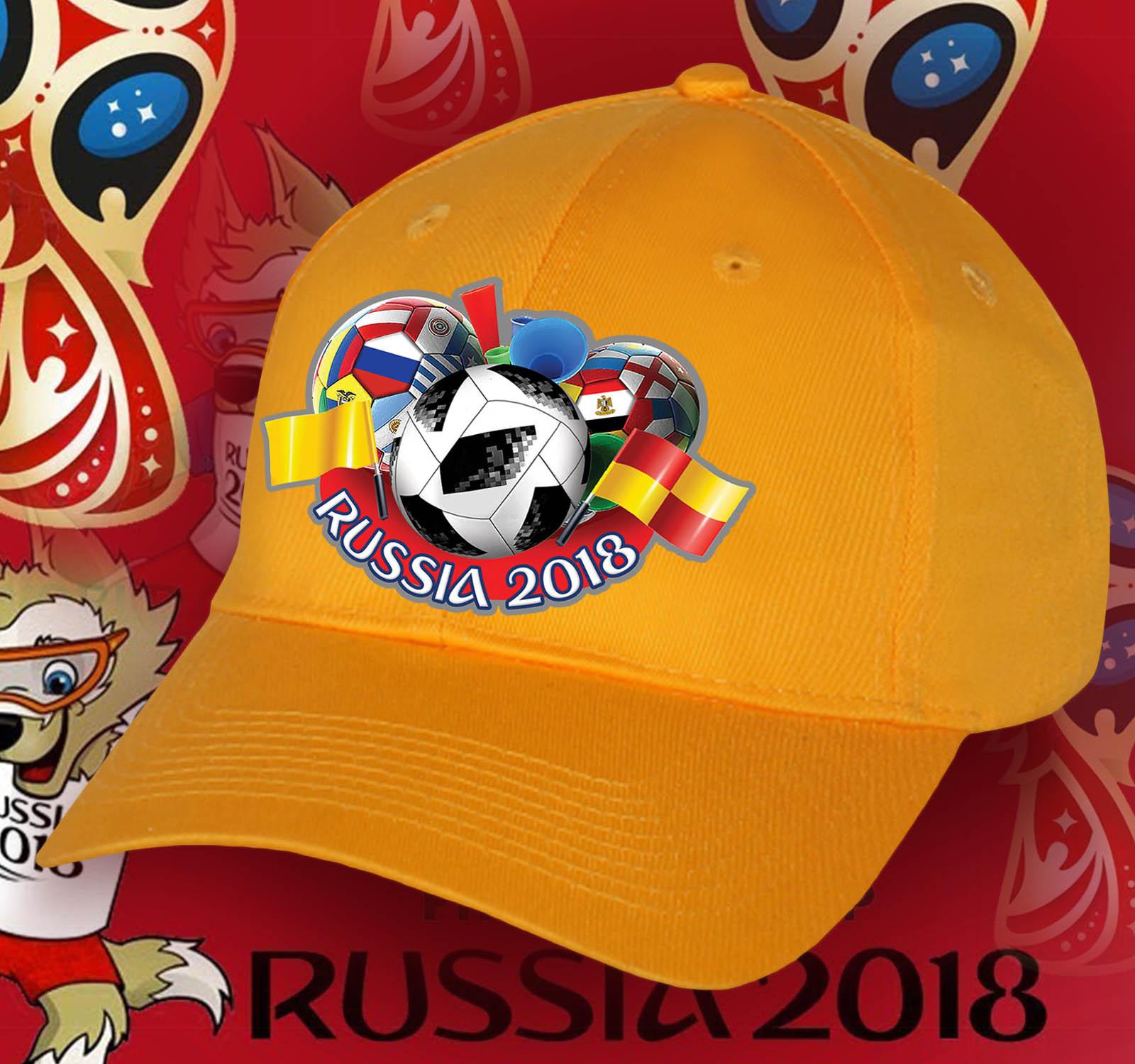 Кепка Russia для футбольных фанатов