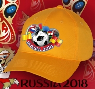 Кепка Russia для футбольных фанатов.
