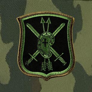 Военная кепка РВСН с шевроном 28-ой ракетной дивизии.
