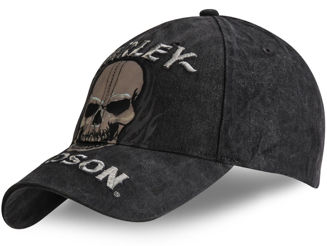 Кепка с черепом - купить в интернет-магазине с доставкой