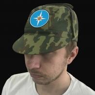Мужская кепка с вышитой эмблемой МЧС.