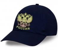 Кепка с гербом России уникальная