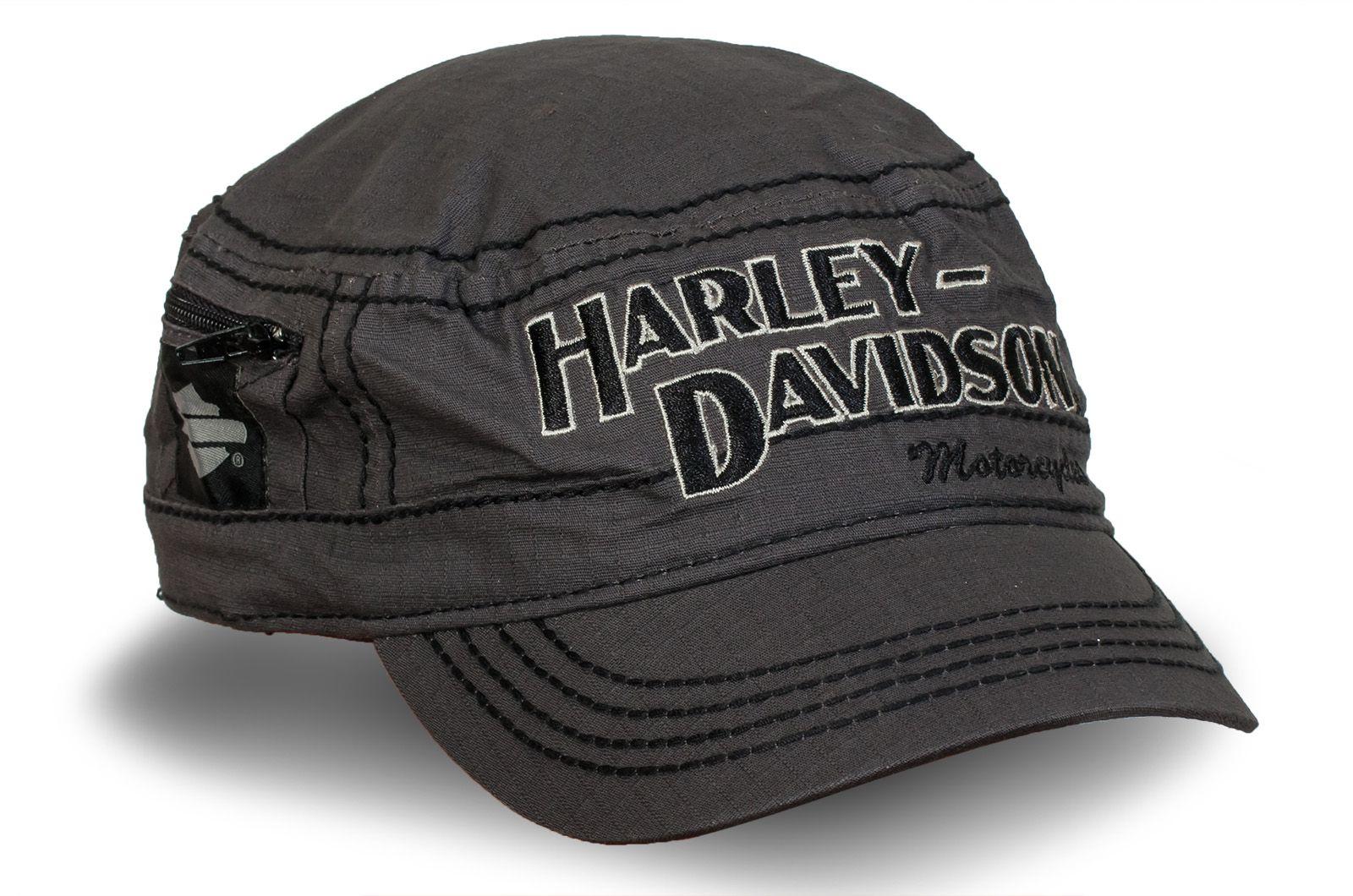 """Кепка с кармашком """"Harley-Davidson"""" - купить в интернет-магазине с доставкой"""