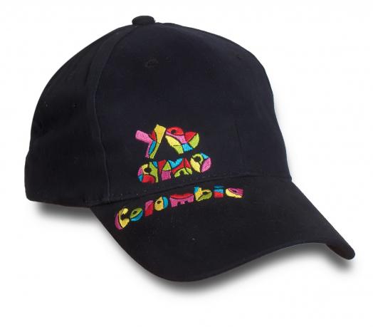 Кепка с колоритным девизом «Я люблю Колумбию»
