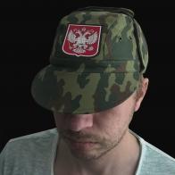 Милитари кепка с Двуглавым Орлом России