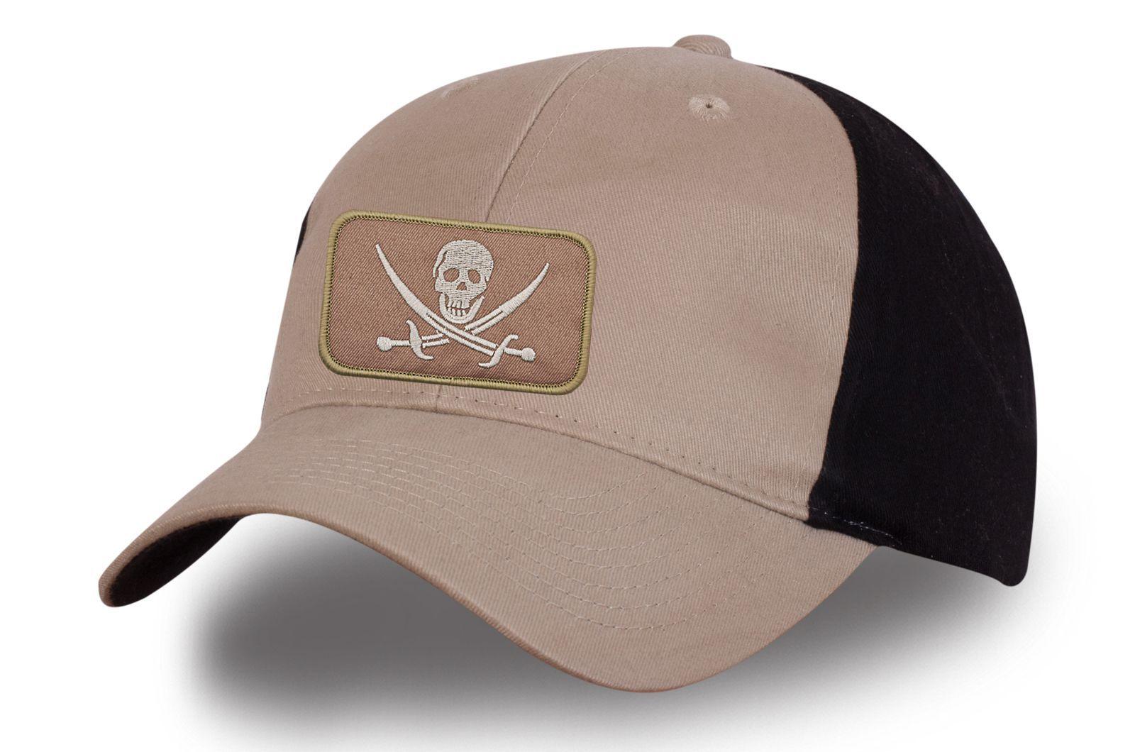 Кепка с пиратской нашивкой - купить по низкой цене