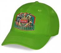Эффектная кепка с символикой «100 лет Пограничным войскам»