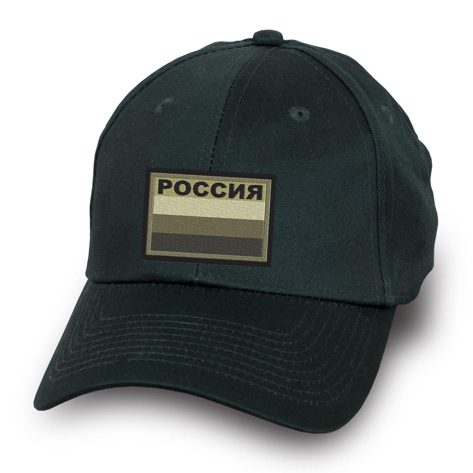 Кепка с полевой нашивкой Россия