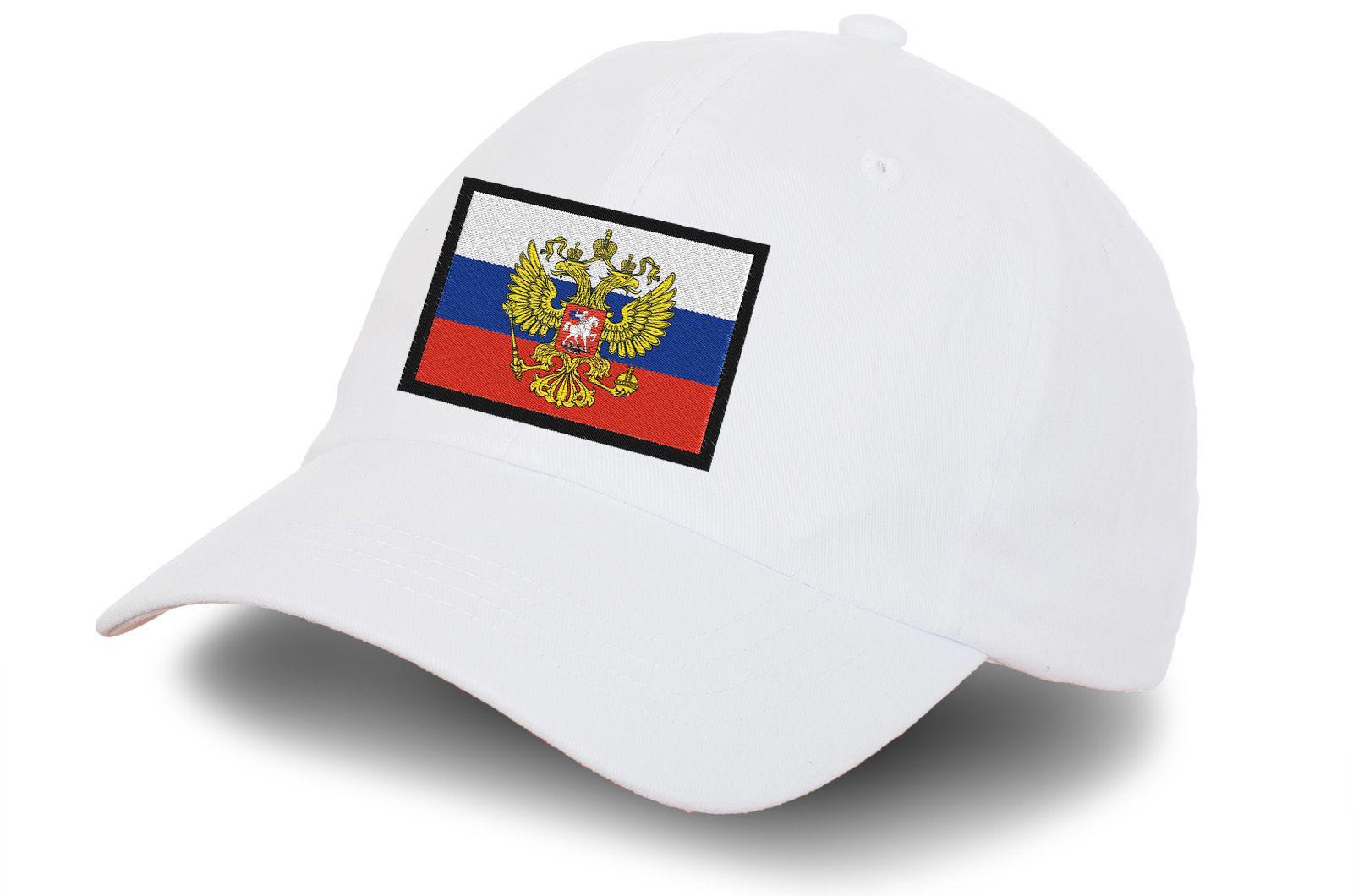 Кепка с российской символикой - купить онлайн