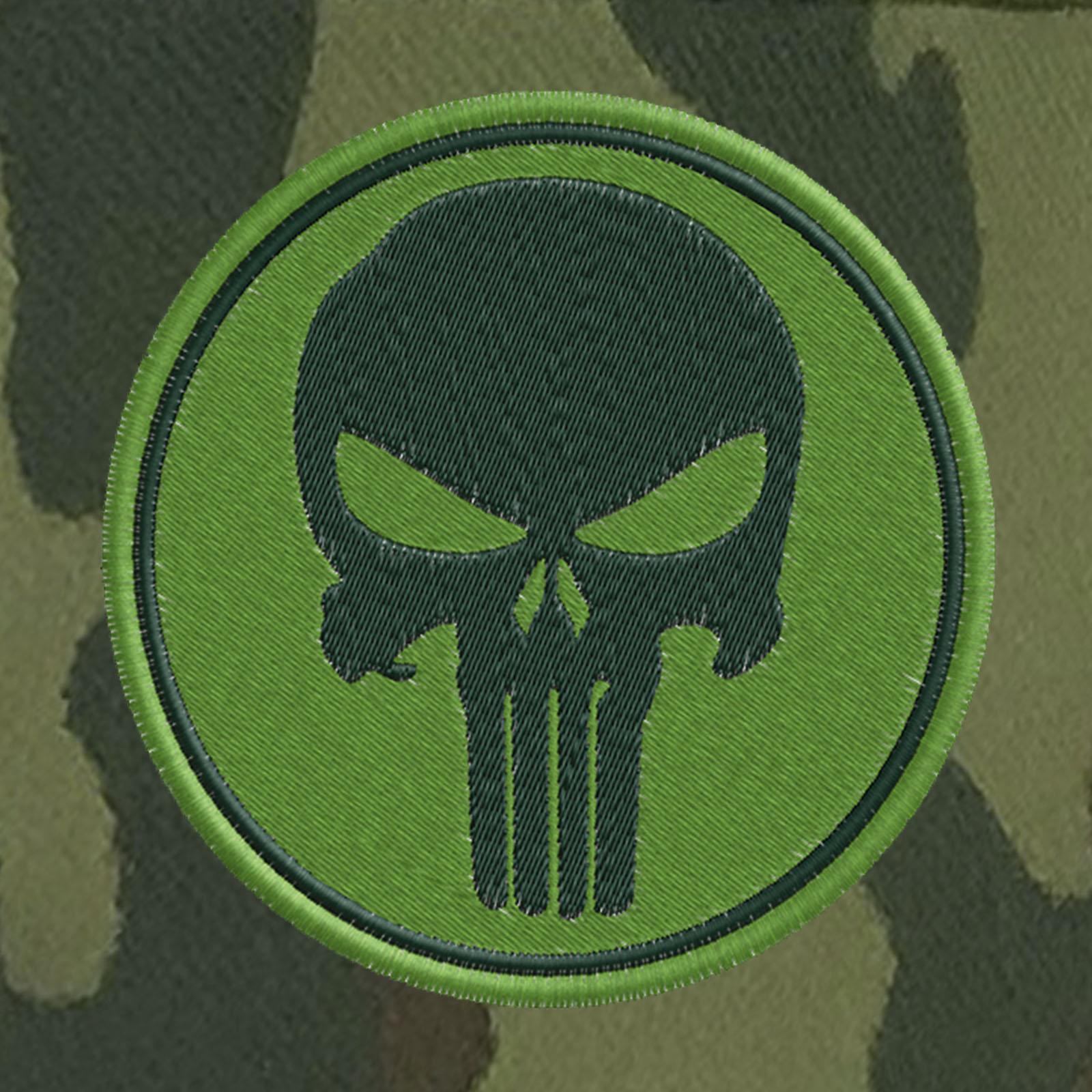Военная кепка с полевым шевроном Каратель