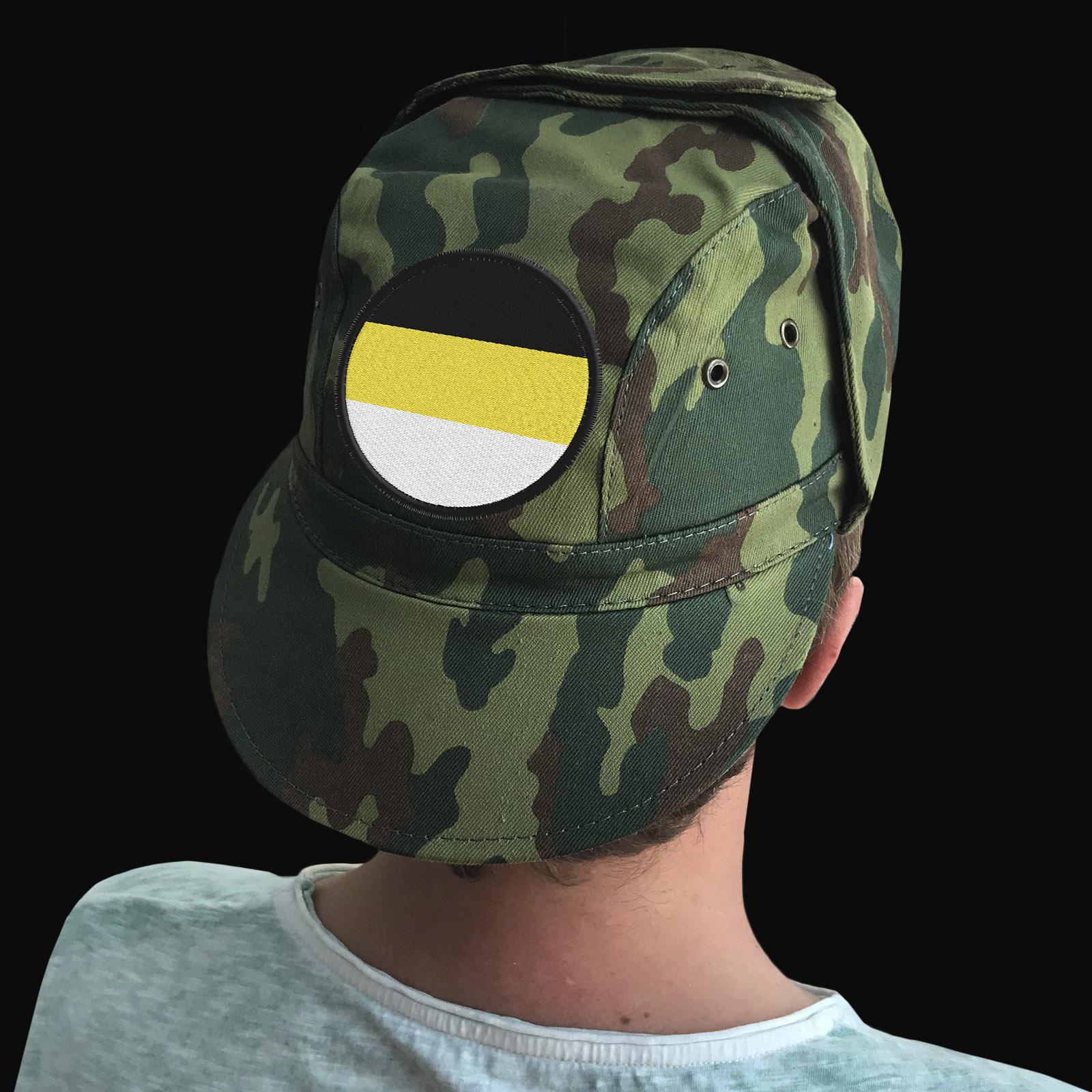 Имперские кепки в камуфляжном дизайне