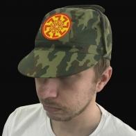 Мужская кепка с ушами и вышивкой «Коловрат».