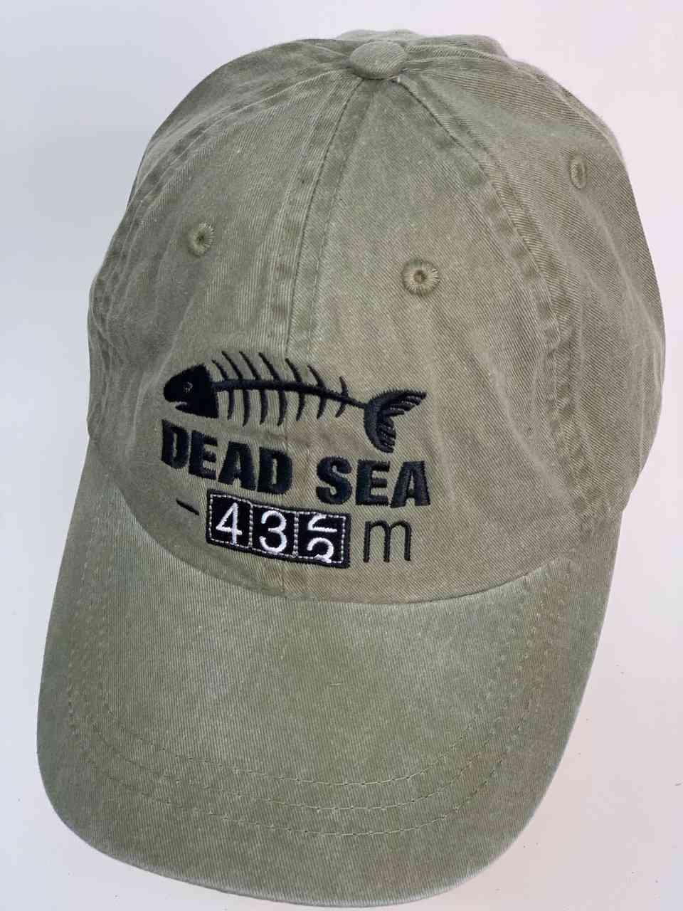 Кепка с весёлым логотипом DEAD SEA