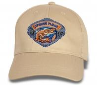 Кепка с вышивкой Лучшему рыбаку