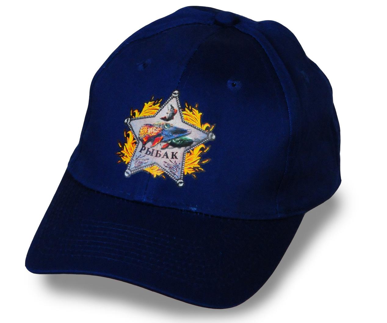 """Кепка со звездой """"Рыбак"""" - купить с доставкой"""