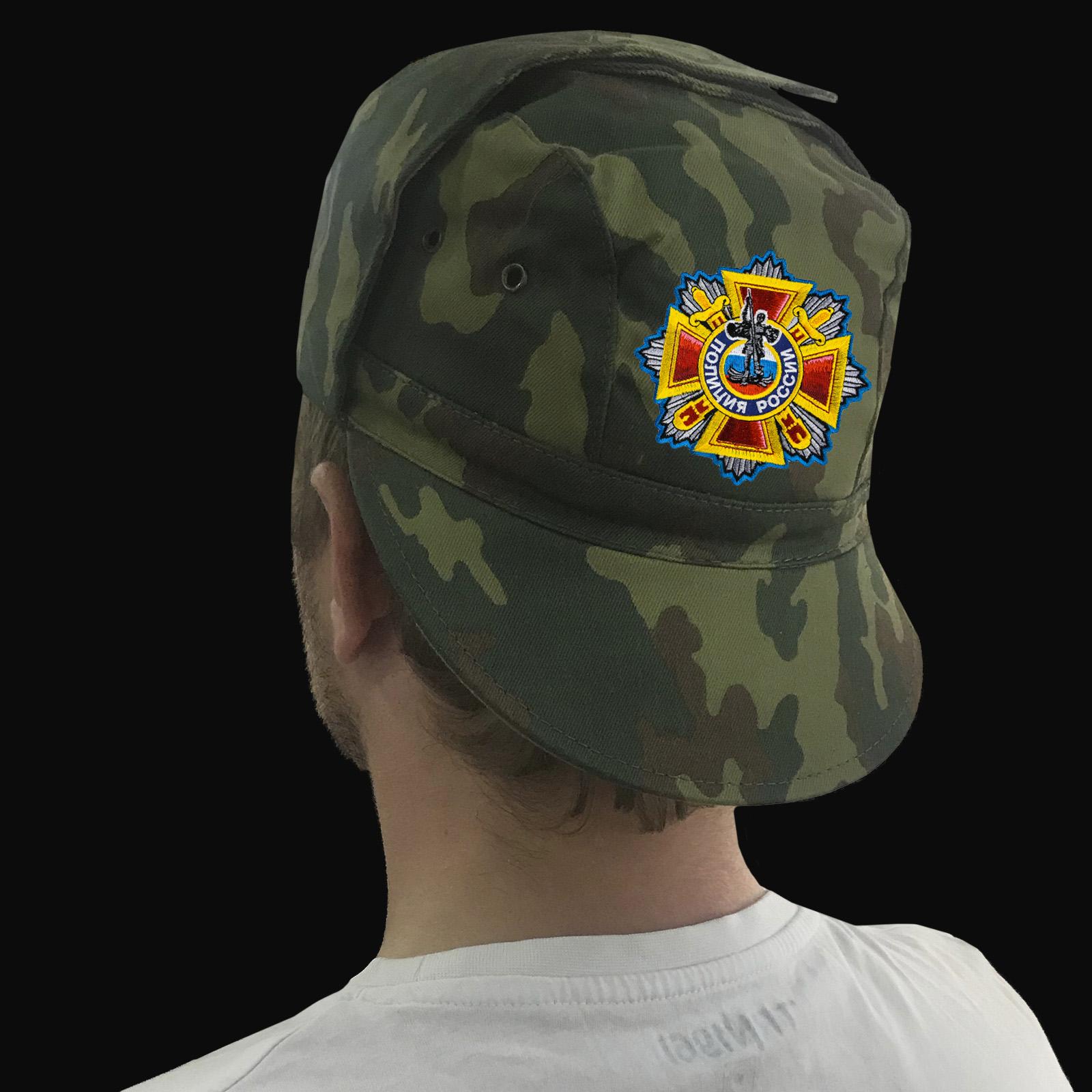 Кепка в стиле милитари для полицейских РФ