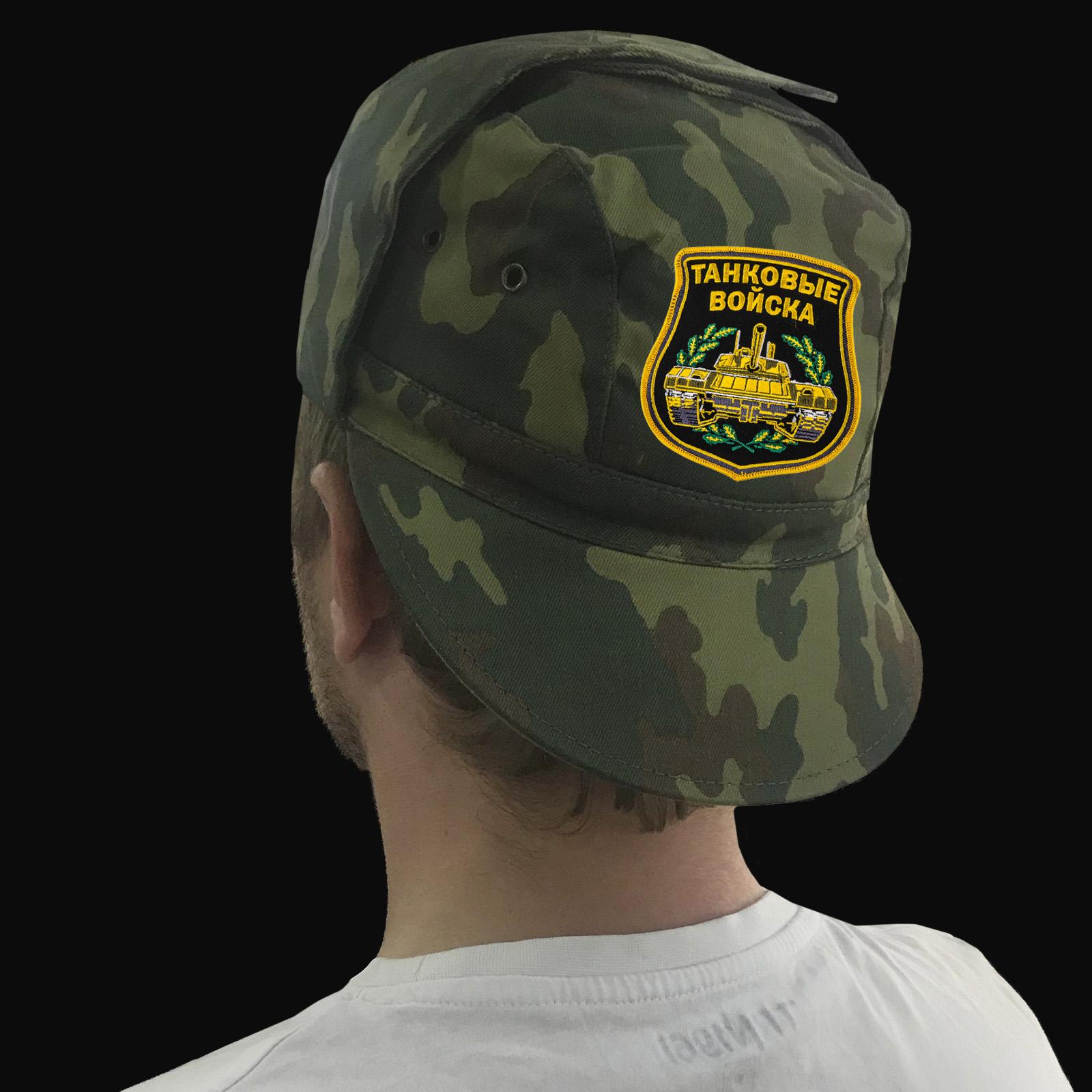 Заказать с доставкой на подарок танкисту кепку-камуфляж