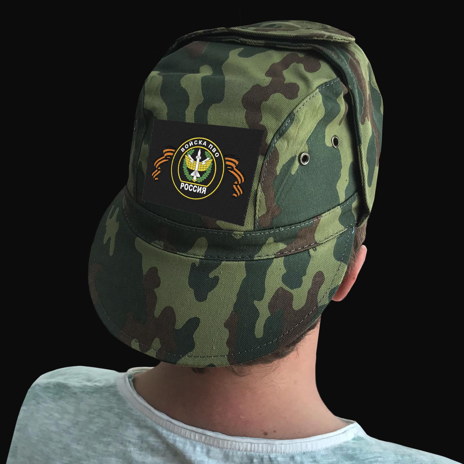 Милитари кепки с шевронами войск Противо-воздушной обороны