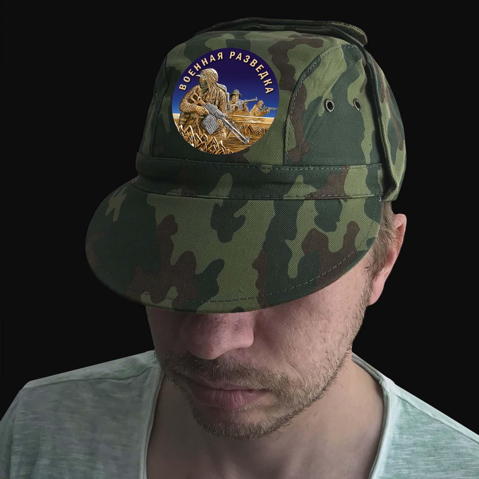Камуфляжная кепка Вудланд Военная разведка
