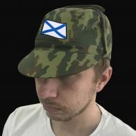 Камуфляжная кепка Woodland «ВМФ, Андреевский флаг»