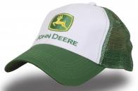 Кепка зеленая с сеткой