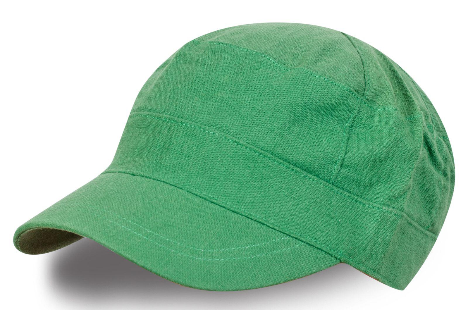Кепка зелёного цвета | Купить модные кепки в интернет-магазине