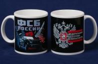 Керамическая кружка с символикой ФСБ России