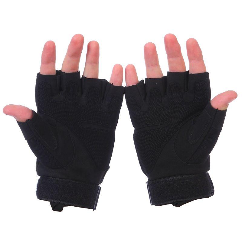 Кевларовые тактические перчатки Hard Knuckle-оборотная сторона
