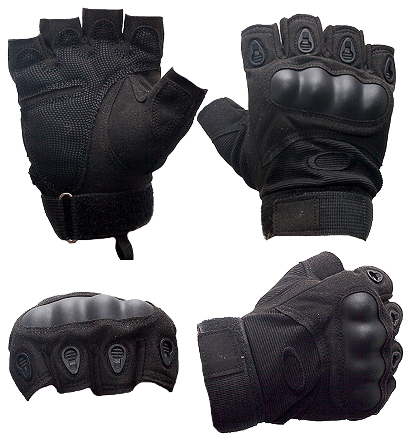 Кевларовые тактические перчатки  Hard Knuckle-аверс и реверс