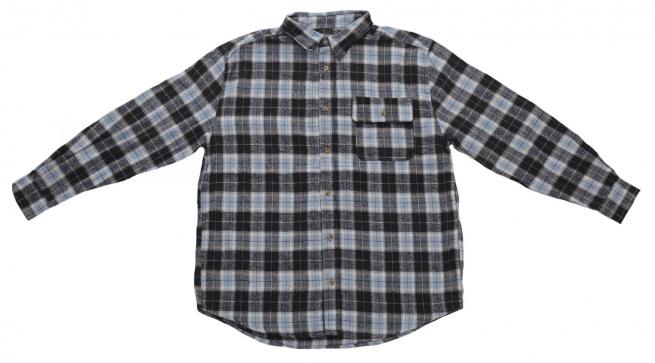 8f43be258da Мужская кэжуал рубашка OLD MILL в крупную клетку