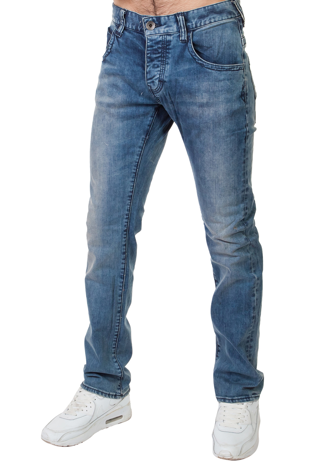 Классические мужские джинсы средней посадки – стильно и удобно