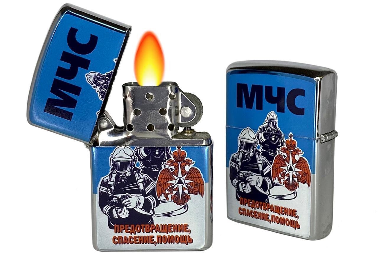 Классическая бензиновая зажигалка МЧС купить по лучшей цене