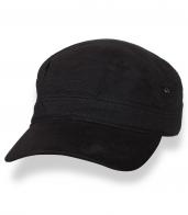 Классическая черная кепка-немка