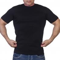 Классическая черная мужская футболка