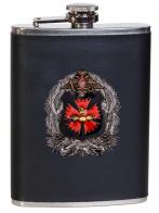 Классическая фляжка в чехле с эмблемой ГУ Генерального штаба ВС РФ