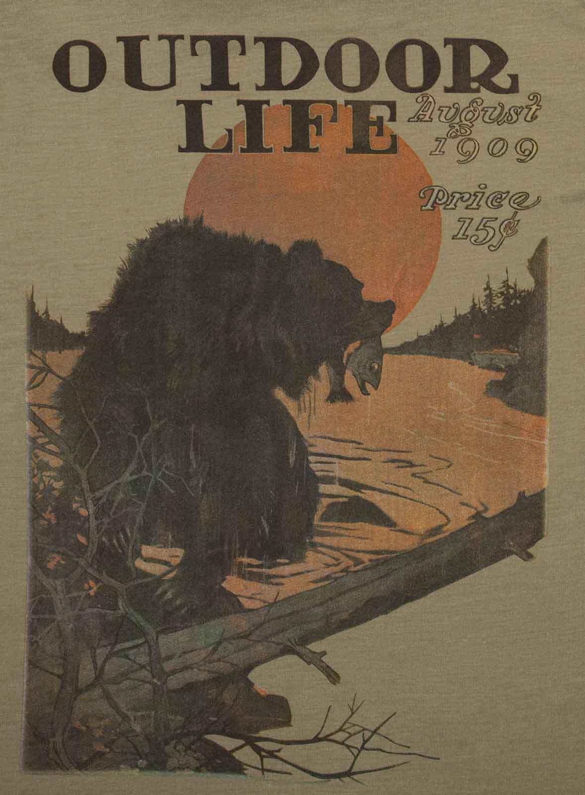 Классическая мужская футболка Guide Life с коротким рукавом.