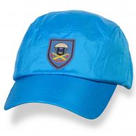 Классическая голубая бейсболка с шевроном 76 гв, ДШД 1140 Артполк ВДВ купить оптом