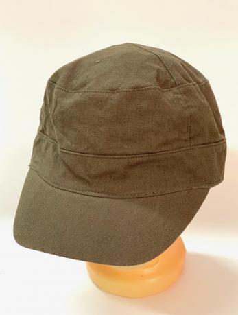 Классическая кепка-немка коричневого цвета