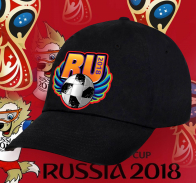 Классическая кепка Ru 2018.