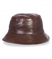 Классическая коричневая панама - купить оптом