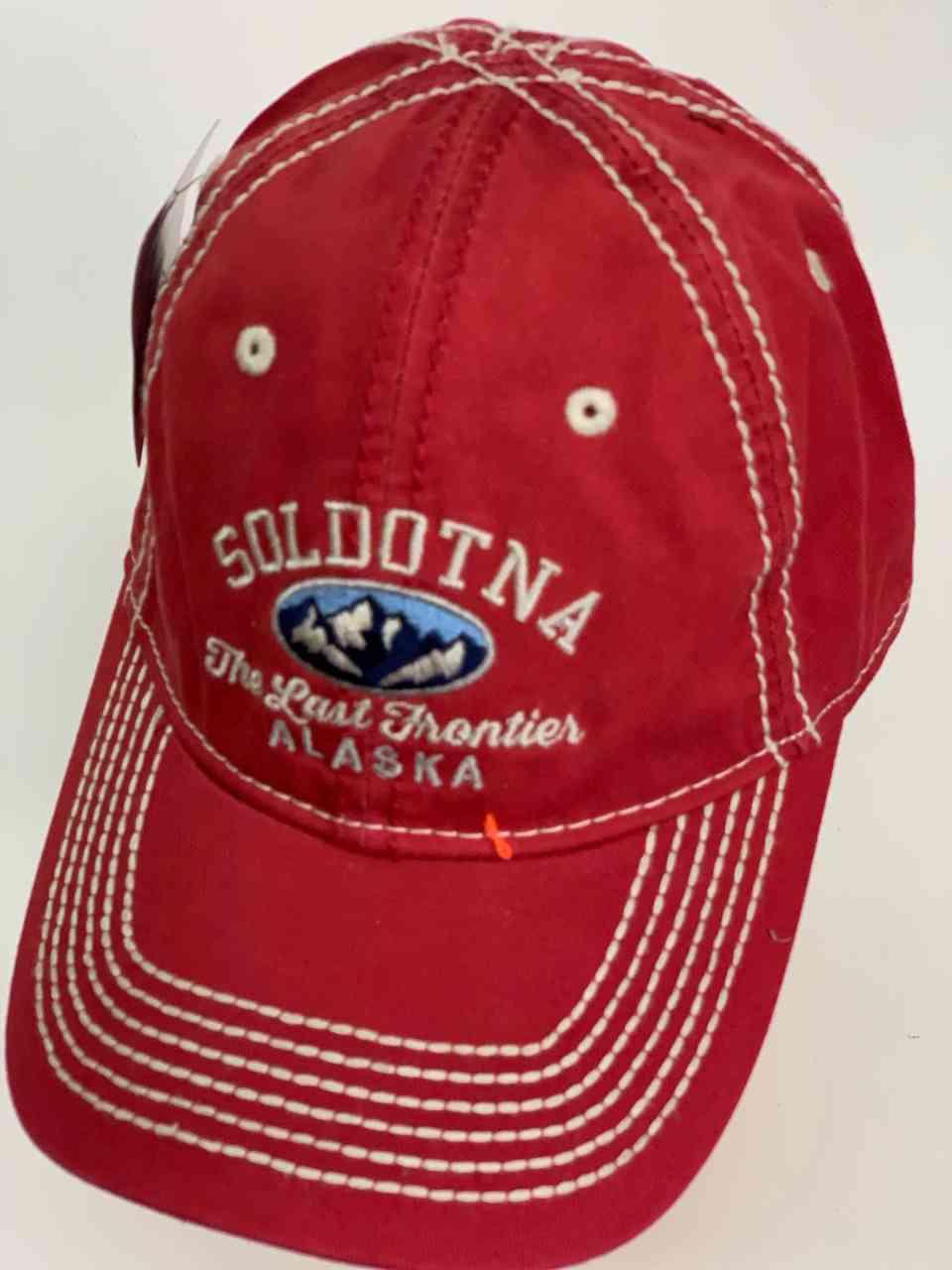 Классическая красная кепка SOLDOTNA ALASKA