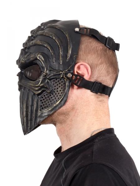 Классическая маска-череп для страйкбола