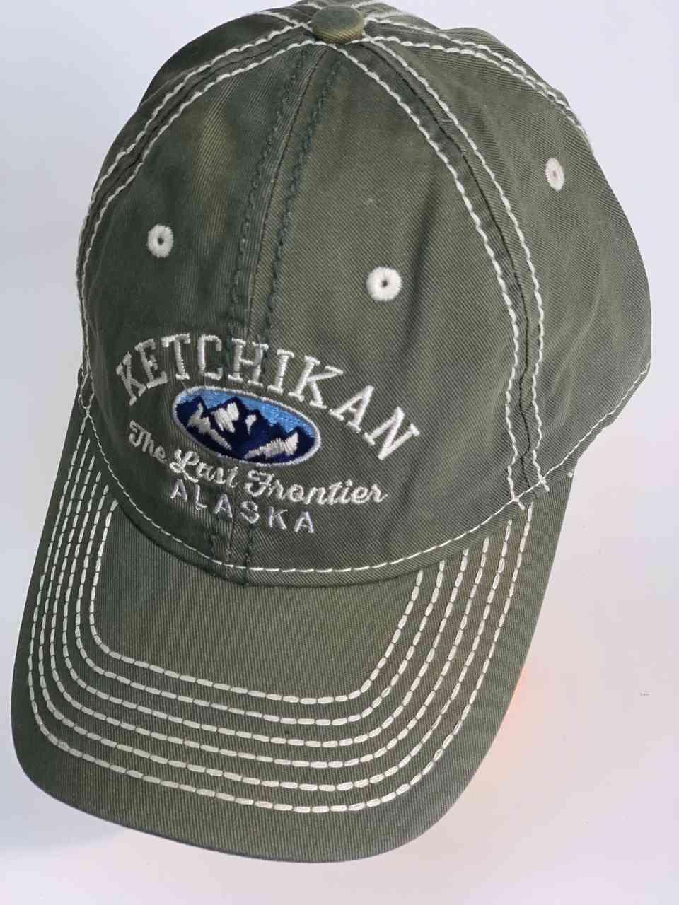 Классическая мужская бейсболка KETCHIKAN Alaska