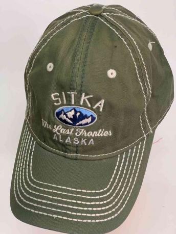 Классическая мужская бейсболка SITKA ALASKA